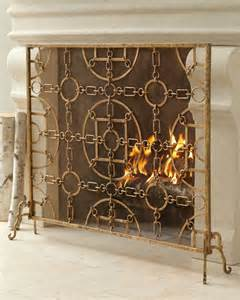 Choose fireplace screens interior design decor blog