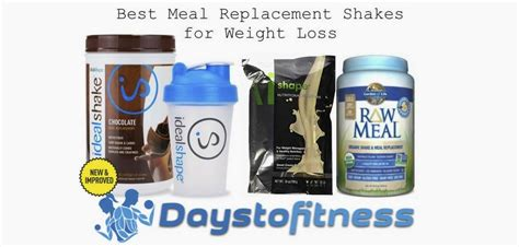 best weight loss shakes meal replacement shakes for weight loss reviews
