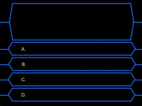 Who Wants To Be A Millionaire Reproduction Who Wants To Be A Millionaire Template With