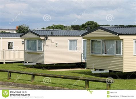caravan mobile homes royalty free stock photo image 28391555