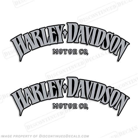 Harley Tank Emblem Aufkleber by Harley Decals