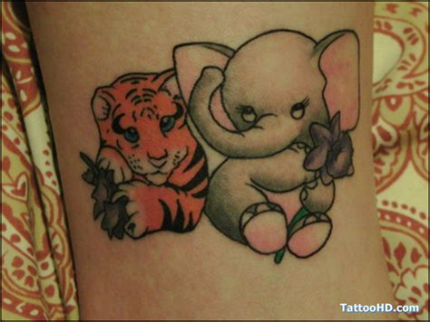 cute tiger tattoo designs 57 baby tiger tattoos ideas