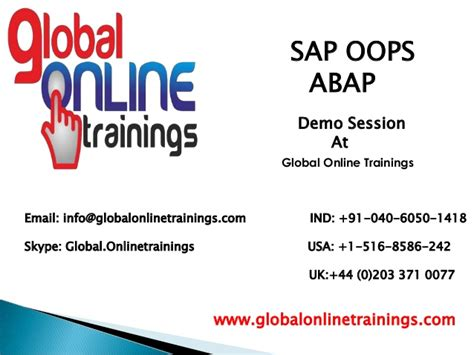 oops abap tutorial sap technical sap oops abap online training sap oops abap course content