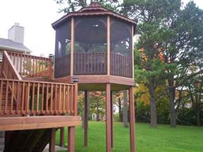 Free Standing Awning For Deck St Louis Gazebos Adding A Gazebo To Your Deck St