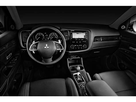 mitsubishi outlander 2015 interior 2015 mitsubishi outlander prices reviews and pictures u