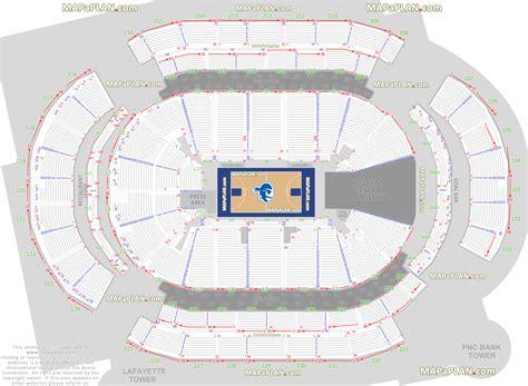 basketball arena floor plan newark prudential center seton hall pirates ny
