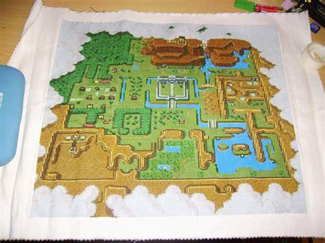legend of zelda map cross stitch nintendo spotting cross stitch zelda map infendo