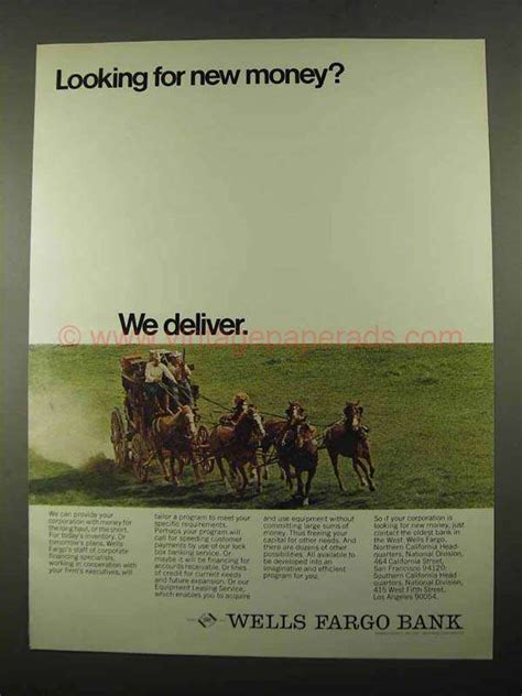 looking for fargo bank 1969 fargo bank ad looking for new money