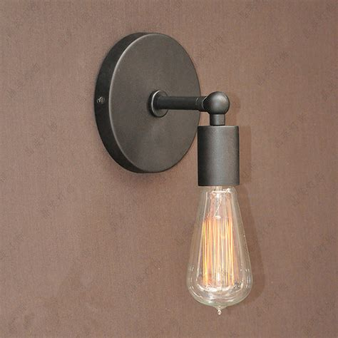 Edison Bulb Wall Sconce Aliexpress Buy Loft Industrial Wall Ls Vintage Wall Light Wall Sconces 1 Edison Bulb