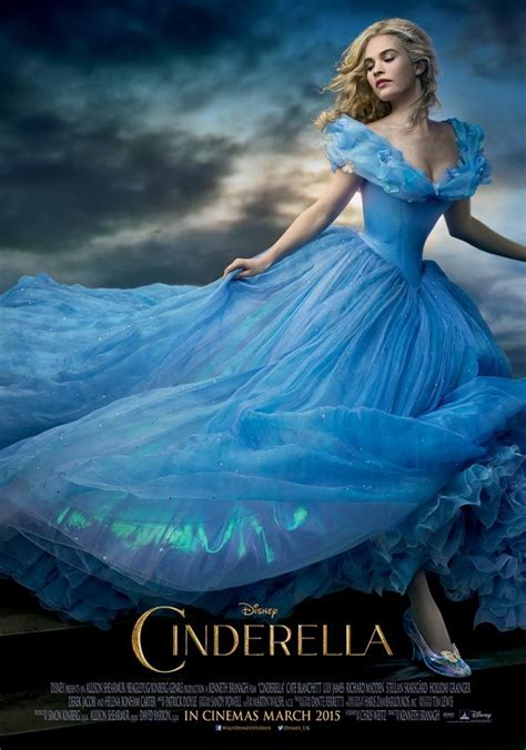 cinderella film photos dazzling new trailer poster for live action cinderella
