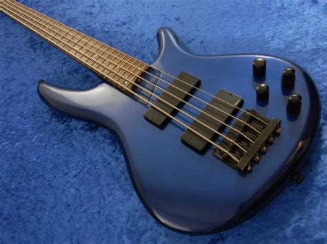 Gitar Bass Sdgr 5 String 10 ibanez japan sdgr soundgear circa 1999 blue 5 string bass guitar reverb