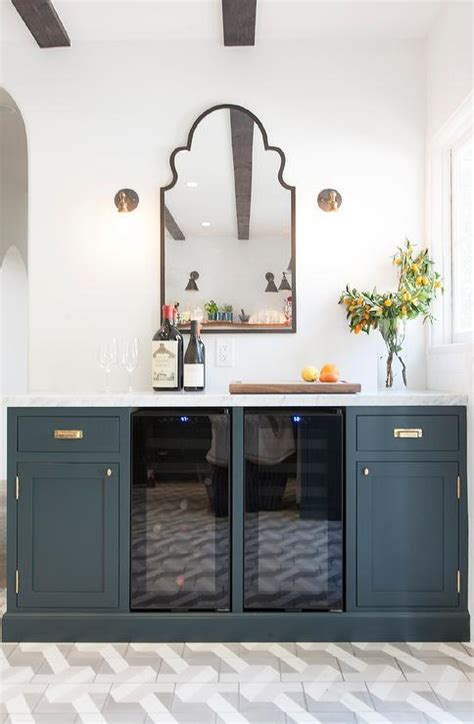 navy blue cabinets design ideas