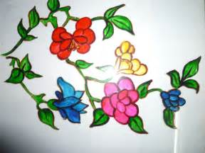 flower design for glass painting 301 moved permanently