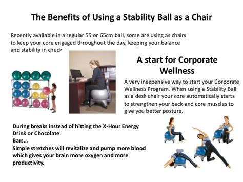 Benefits Of Stability Chair by Advancement In Stability Chairs