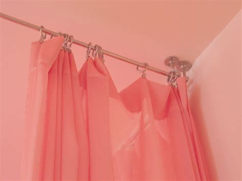 Ceiling Curtain Rods Ideas How To Hang A Curtain Rail From The Ceiling Curtain