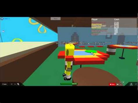 Roblox Tables by Roblox Spongebob Vs Table