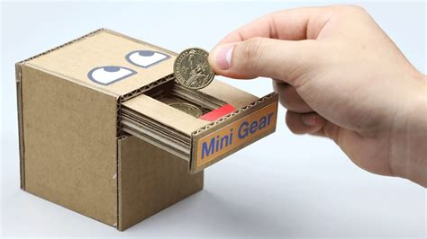 coin bank box youtube