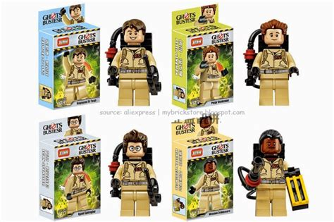Brick Lepin 16032 Ghostbusters Ecto 1 2016 my brick store lego ghostbusters by xinh set number 108