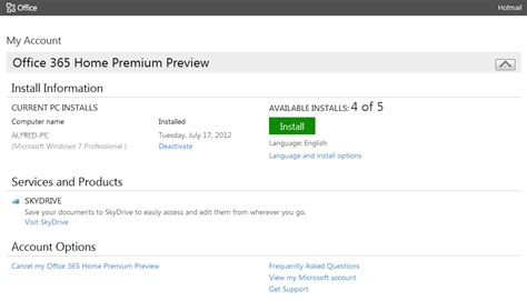 download microsoft office 2013 and 365 preview product key microsoft office 15 2013 customer preview 消費者預覽版可以下載囉