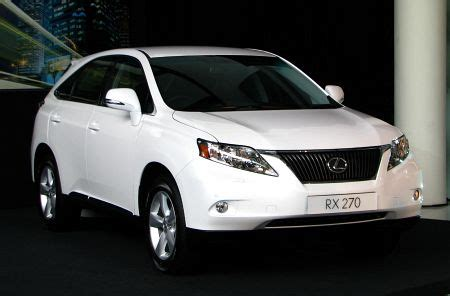 lexus rx 270 introduced in malaysia 185hp four cylinder
