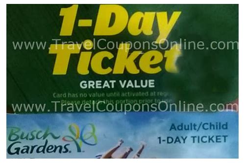 free coupons for busch gardens williamsburg