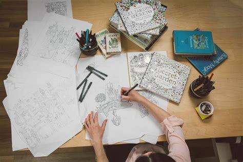 secret garden coloring book sold out vendi 243 un mill 243 n de copias libro para colorear para