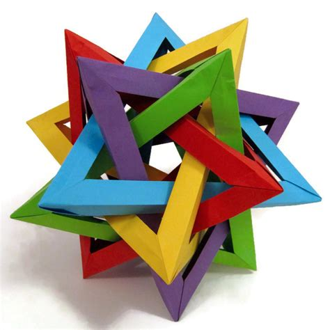 How Origami Started - getting started with geometric modular origami artful maths