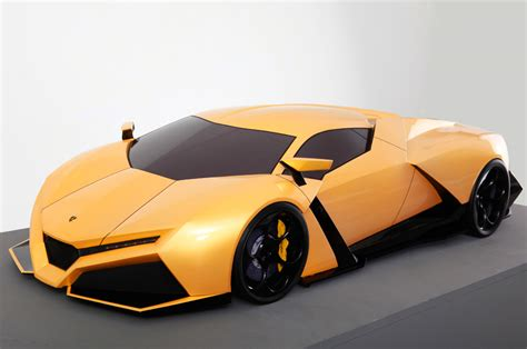 Lamborghini Cnossus Concept Car. Absolutely Stunning