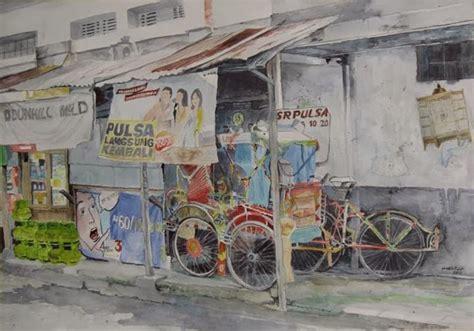 sketchbook indonesia jawa april 2013