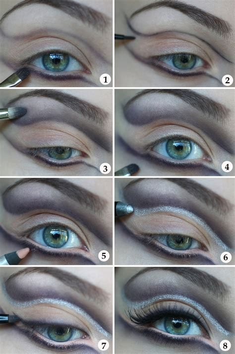 tutorial eyeliner silver 7 easy halloween makeup ideas for women with tutorials