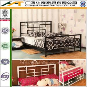 cheap metal kid bedroom furniture wrought iron bed