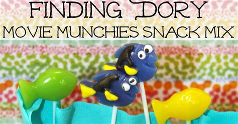 finding dory no 1 at july 4th box office tarzan for the love of food quot finding dory quot movie munchies snack mix