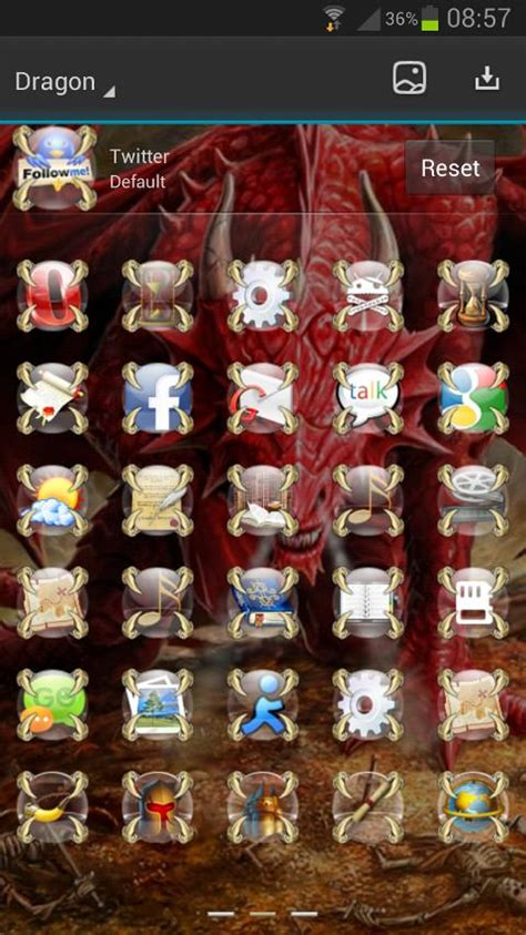 google themes dragon next launcher dragon theme android apps on google play