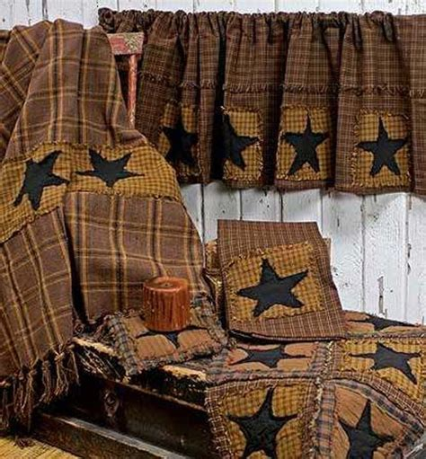 primitive decor curtains primitive homes primitives and primitive kitchen decor on pinterest