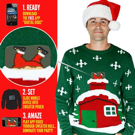 free knitting pattern ugly christmas sweater knitted crackling fireplace christmas jumper morph