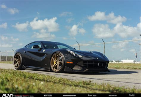 wheels ferrari black ferrari f12 berlinetta adv05 m v2 sl series wheels