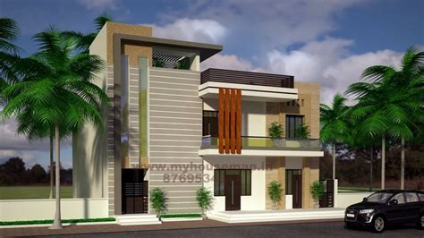home house map elevation exterior house design  house map  india