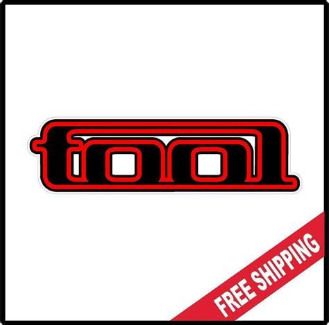 Tool Band Stickers