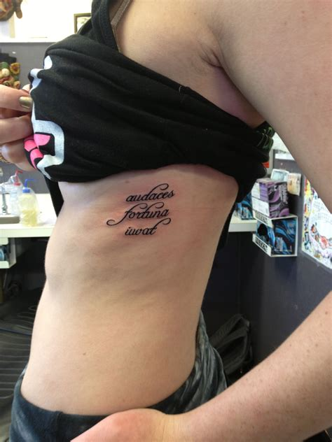 fortune favors the bold tattoo audaces fortuna iuvat virgil quot fortune favors the bold