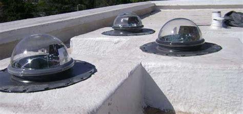 claraboyas tubulares terminaciones exteriores en techos