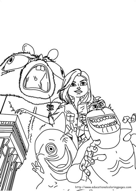 monsters aliens coloring educational fun kids coloring
