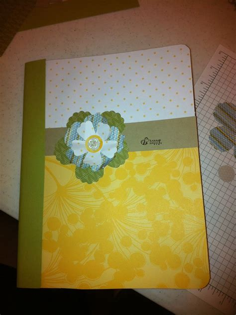 Paper Crafting Books - crafts with composition books