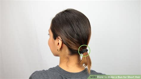 How To Make A Bun Hairstyle For Black Hair by 3 Ways To Make A Bun For Hair Wikihow