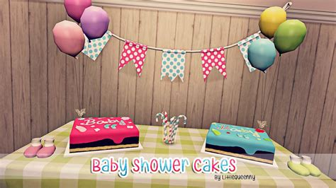 Sims 3 Baby Shower sims 3 baby shower cakes by littlequeenny