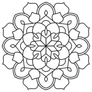 simple doodle mandala 1 ninth circle design