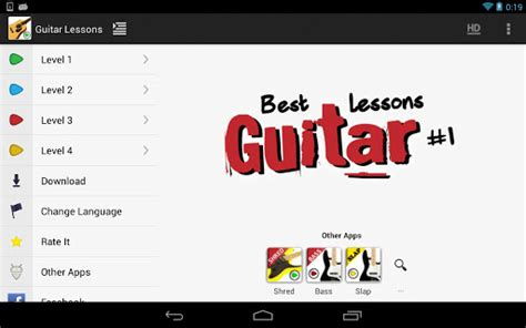 guitar tutorial app download guitar lessons beginners lite android apps apk