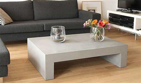 wohnzimmertisch u form couchtisch aus beton tisch u form in funktion
