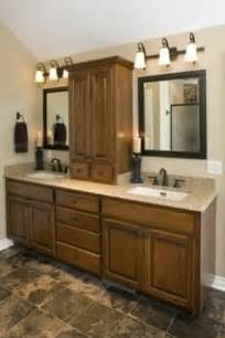 Sink Vanity With Center Tower Bathroom Linen Tower Foter