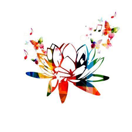 fior di loto disegno disegno fiore di loto vettoriali stock