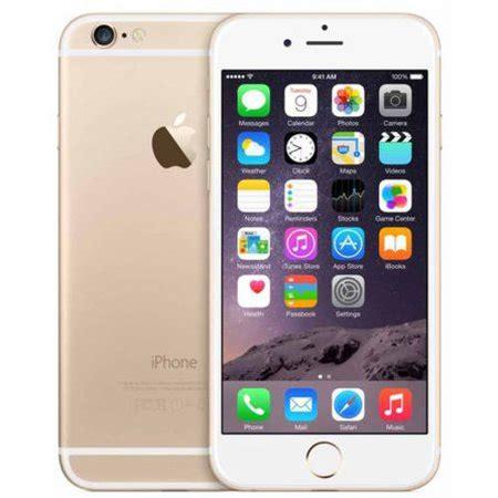 refurbished apple iphone 6 64gb smartphone unlocked walmart
